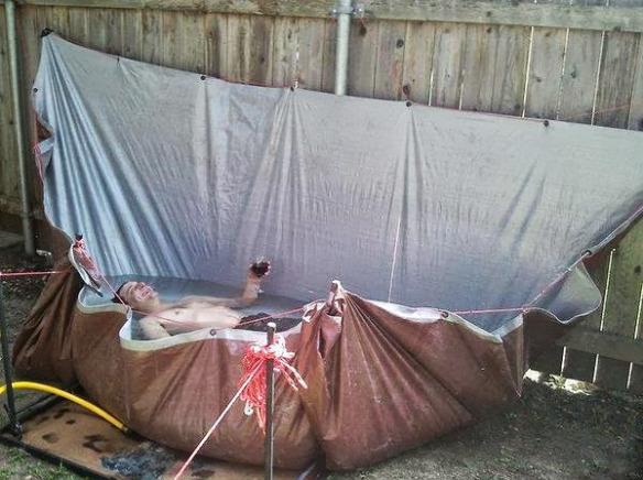Как сделать бассейн на даче своими руками из подручных материалов фото 100