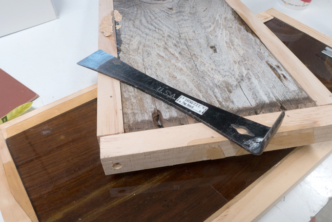 How to make a structured woodgrain tile