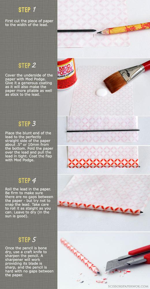 Как можно сделать карандаш 232