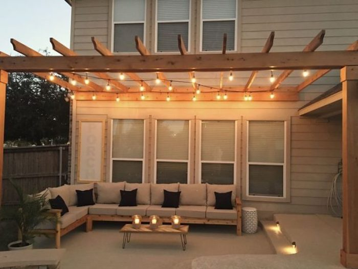 How to make a pergola (canopy) by yourself