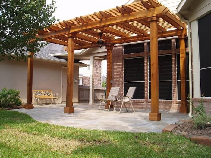 How to make a pergola (shed)