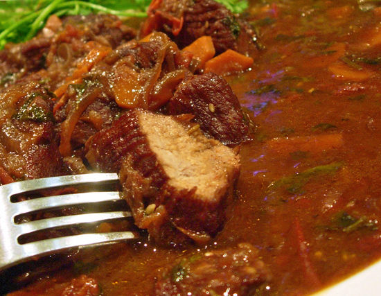 veal in wine sauce