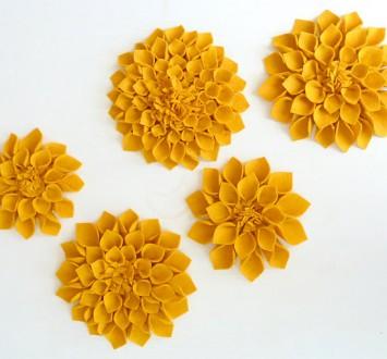 {своими руками} Цветы из ткани (2)