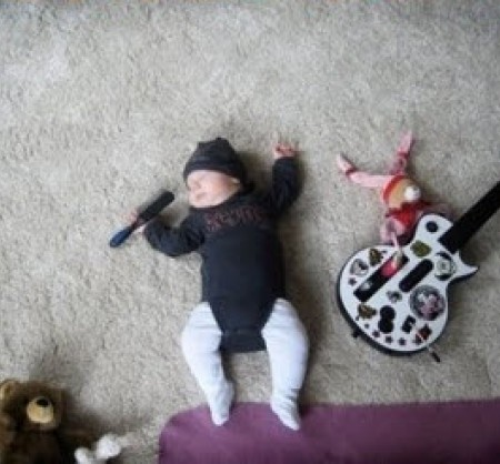 {своими руками} Что можно делать со спящим ребенком