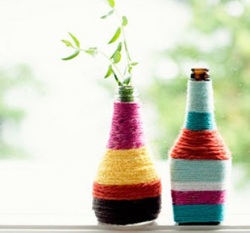 Как сделать декор бутылок своими руками
