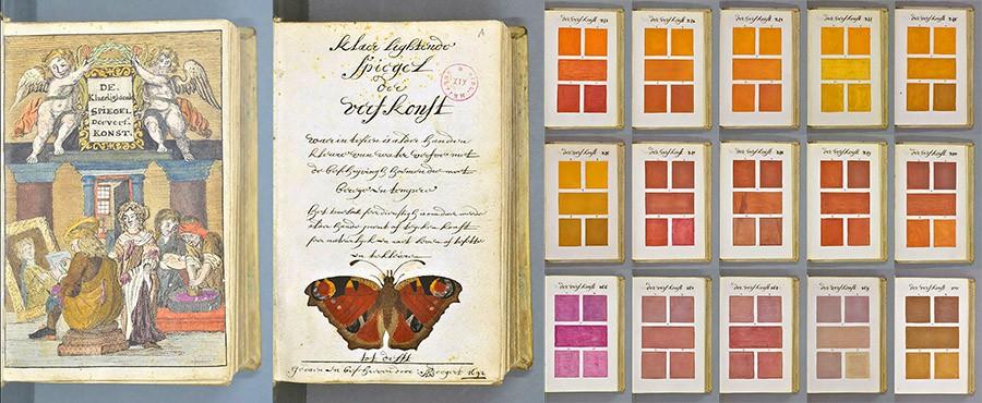 800-страничная рукопись 1692 года от художника Boogert