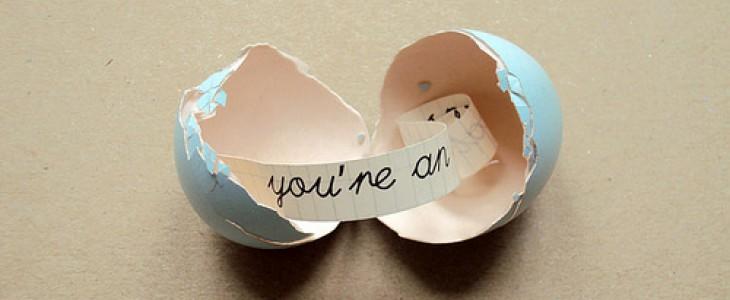 Креативный подарок: Яйцо с сюрпризом {своими руками}