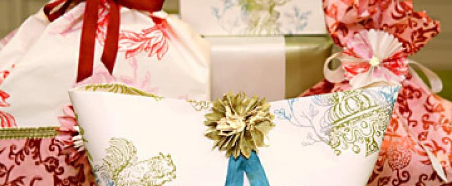 {идея} 30 способов упаковки подарков