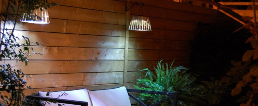 Как сделать недорогую лампу для двора {своими руками}