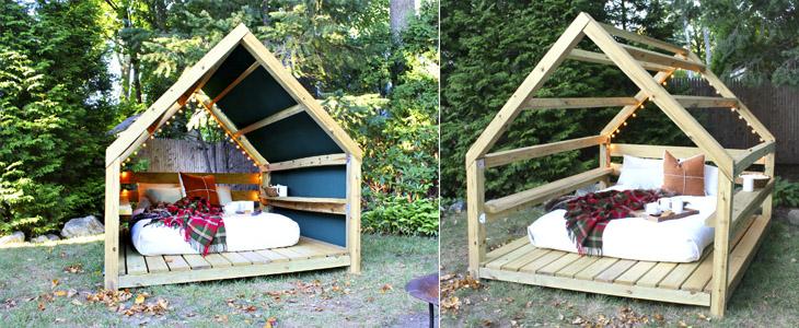 Делаем уютную кабинку для отдыха