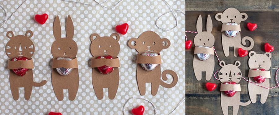 Оригинальная идея на День святого Валентина