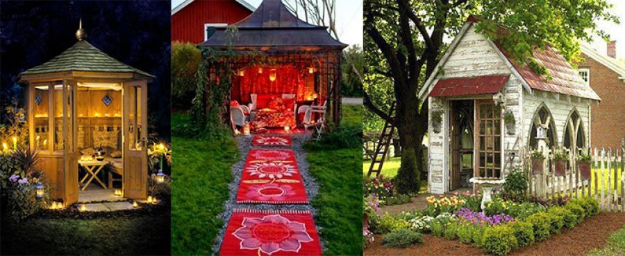 50 Фотографий уютных садовых беседок