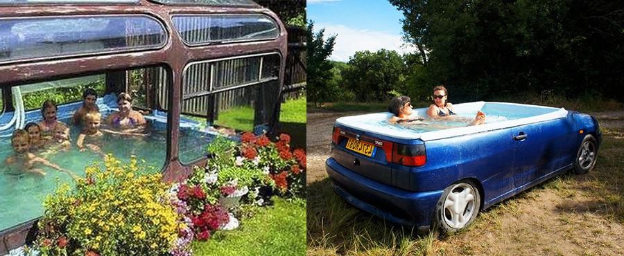 20 Кайфовых импровизированных бассейнов