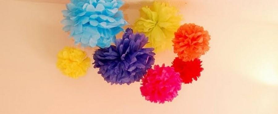 {своими руками} Цветы из тонкой бумаги