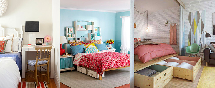 26 Дизайн-хаков для маленькой спальни