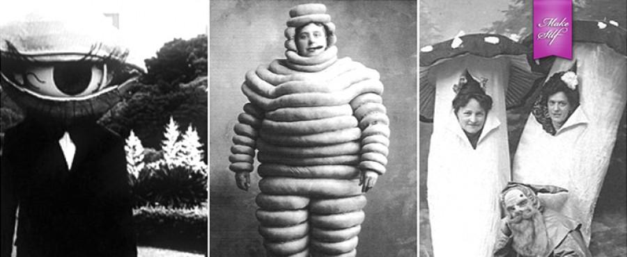 Ретро-костюмы для Хэллоуина