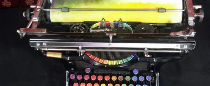 Картины печатной машинкой