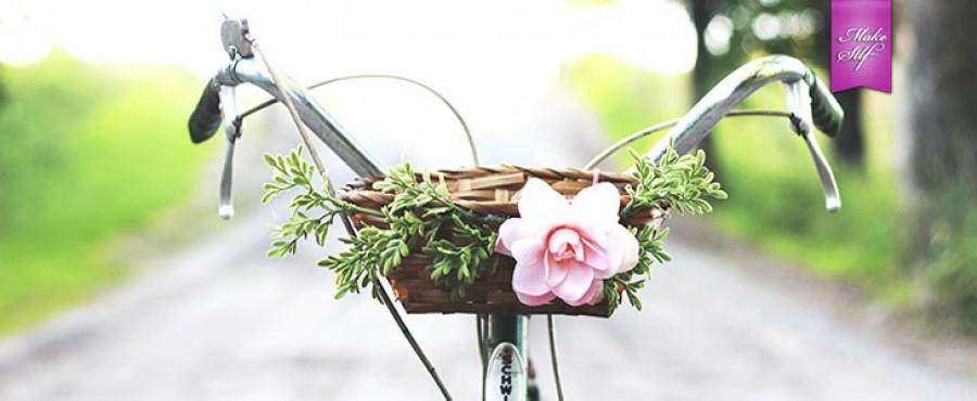 Велосипедная корзина своими руками