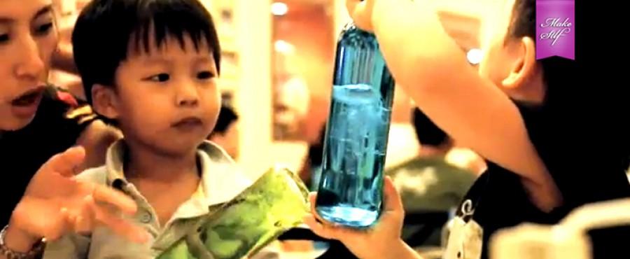 Как сделать собственную медузу в бутылке