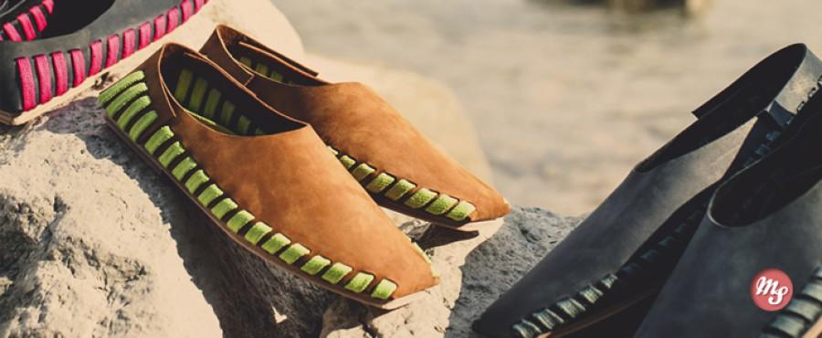 Сборная кожаная обувь Pikkpack