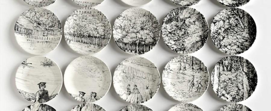 Оригинальные и увлекательные картины на тарелках