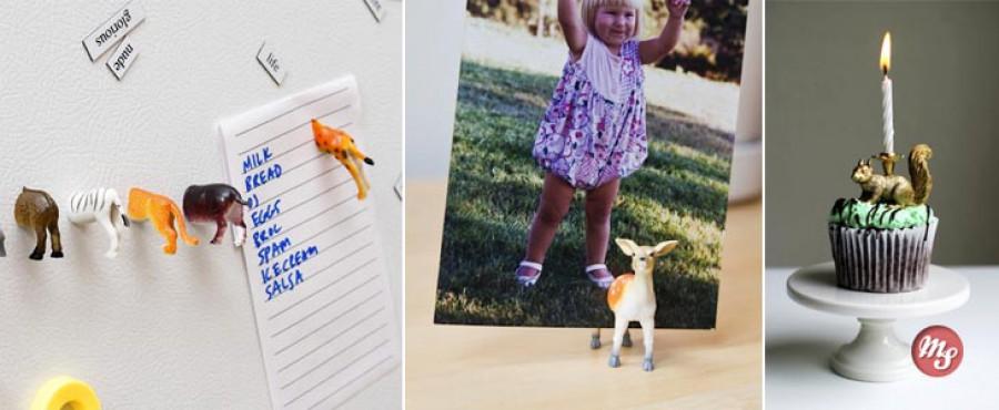 12 Удивительных проектов из пластиковых игрушек