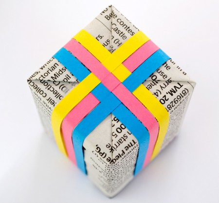 Упаковка подарка {своими руками}