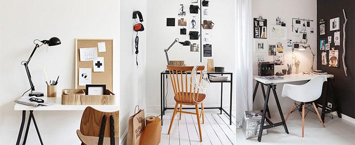 50 Рабочих мест в скандинавском стиле