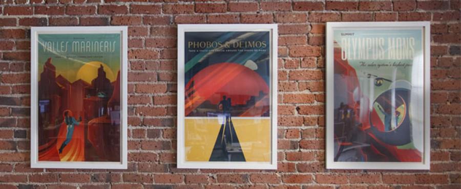 Скачать винтажные постеры от NASA и SpaseX