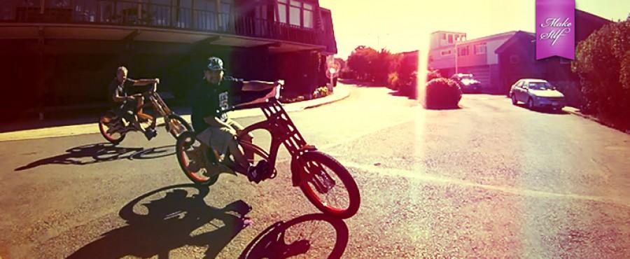 Велосипед из деерева {Видео}