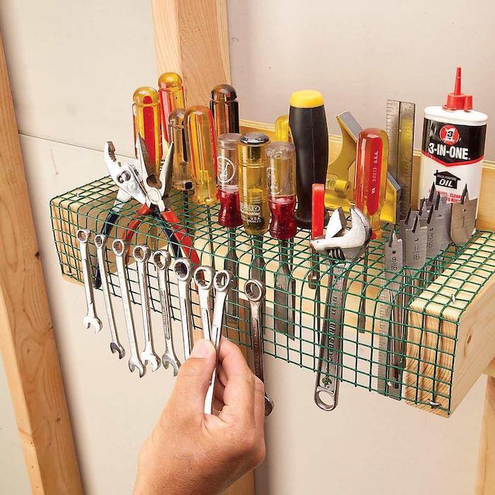 30  Лайфхаков для организации пространства в гараже