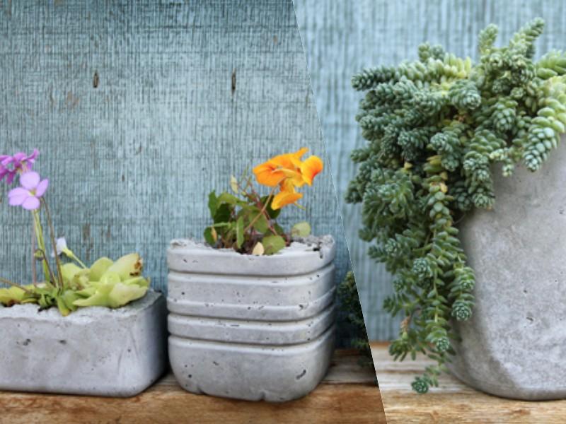 Горшки цветочные из бетона купить цементных бетонов