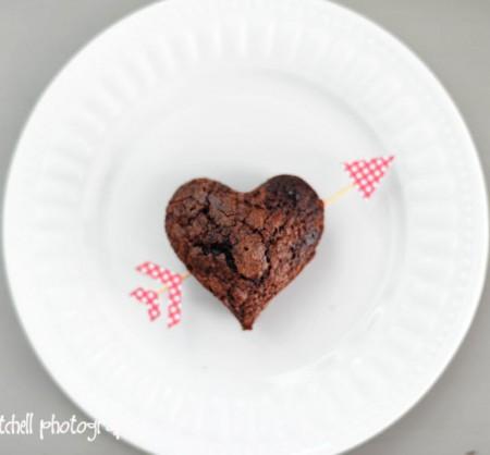 Пирожное ко Дню Святого Валентина