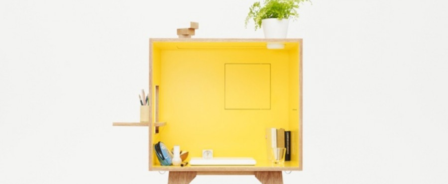 Компактный рабочий стол