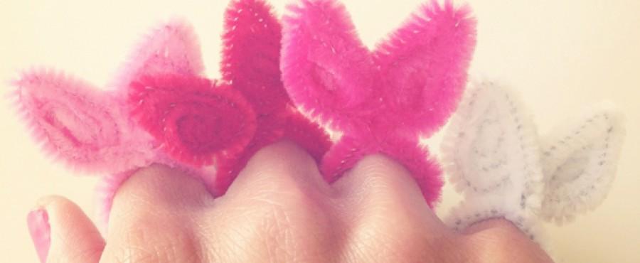 Очаровательные кольца {своими руками}