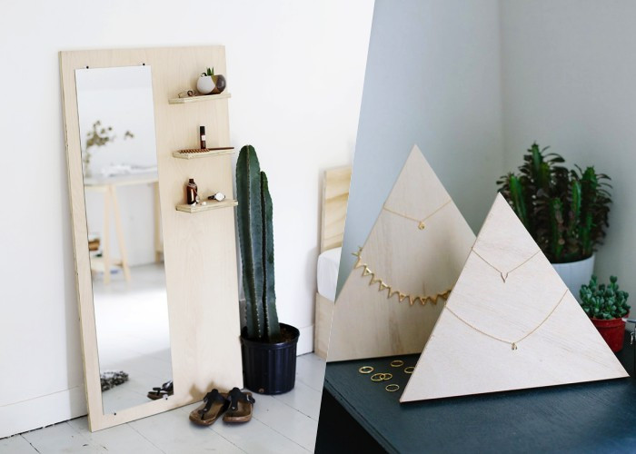 24 Бесподобных вариантов мебели из фанеры