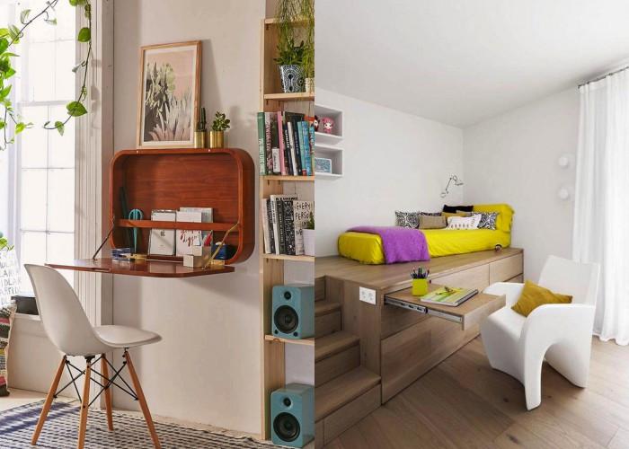 50+ Примеров «умной» мебели для небольших помещений