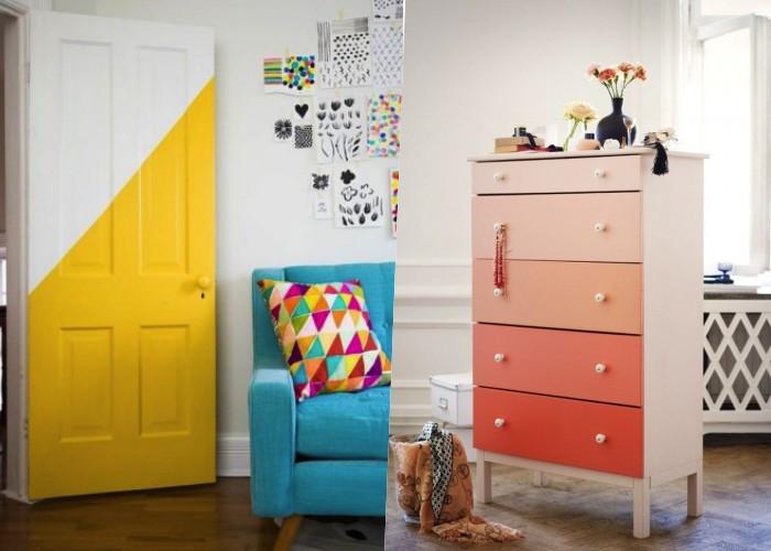 30+ Способов с умом использовать остатки краски