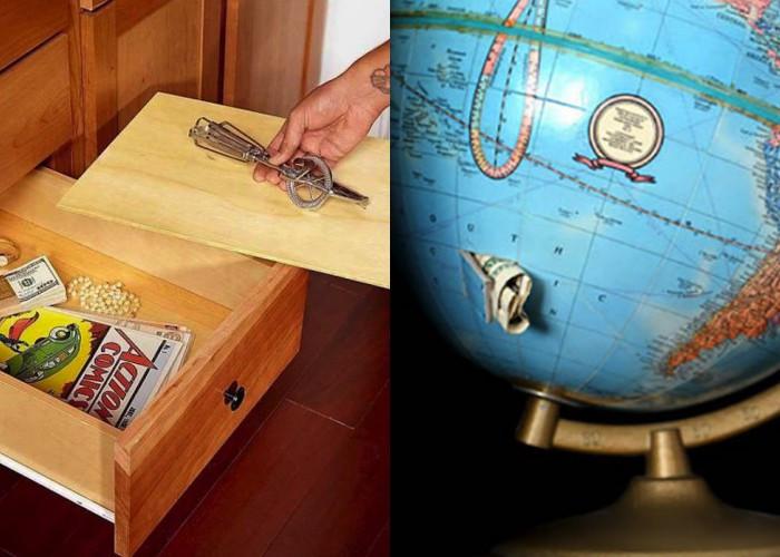25 Тайников в доме, которые помогут скрыть ценные вещи от вражеских рук