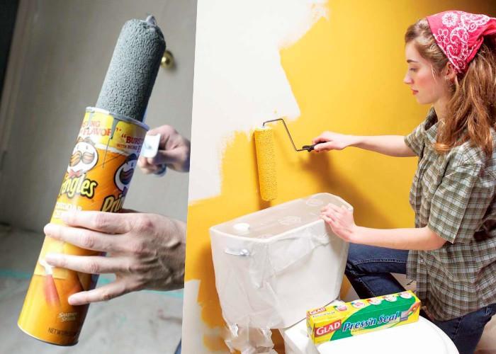 18 советов и хтростей, которые сделают процесс покраски намного проще