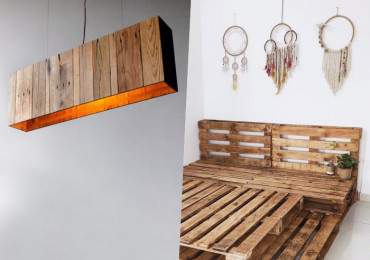 100 Идей повторного использования строительных поддонов