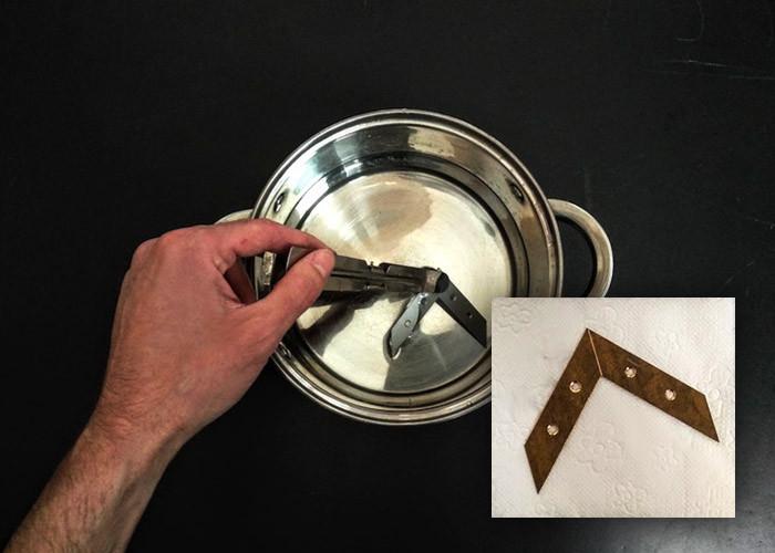 Как удалить краску с металла без использования химикатов