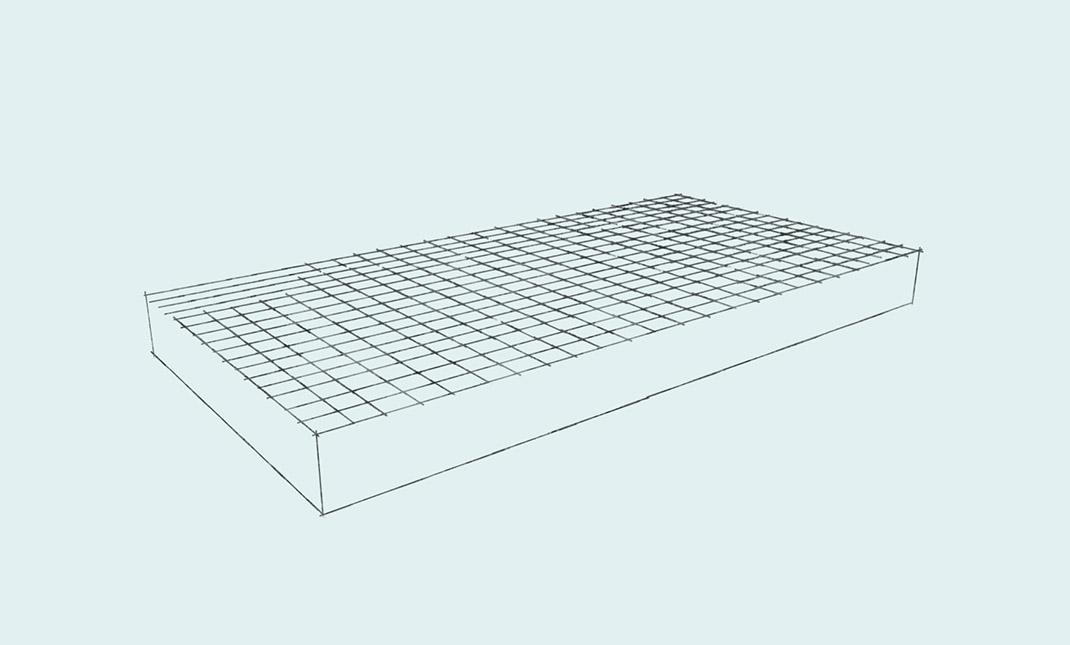 Расчет количества материалов для фундаментной плиты