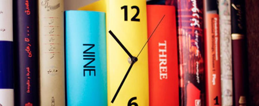 Часы из книг