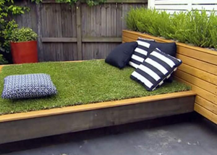 Удивительное ложе с газоном в вашем дворе. Мастер-класс