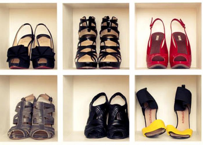 Творческие идеи хранения обуви