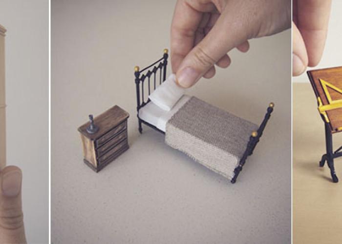 Крошечная мебель от Эмили Бутард
