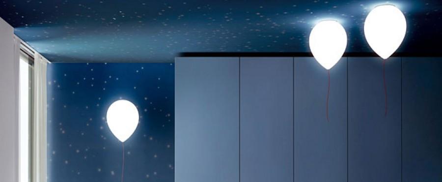 Лампы в виде воздушных шаров