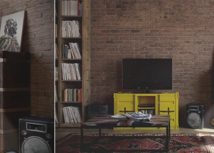 Квартира для холостяка в стиле Loft