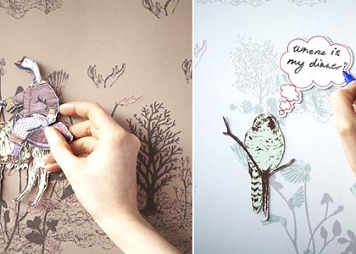 Волшебные обои от Сиан Зенг